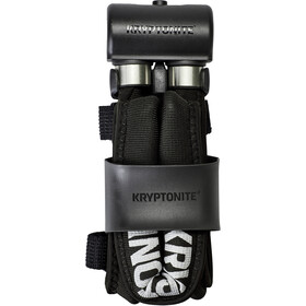 Kryptonite Keeper 695 Vouwslot, black